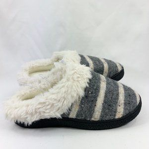Isotoner Sweater Knit Memory Foam Slippers